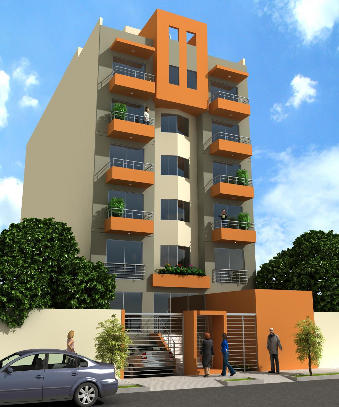 Departamento en miraflores inmobiliaria for Fachadas de departamentos modernos